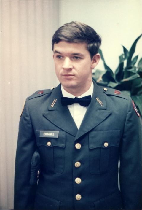 ASU Army ROTC Cadet Dallas Eubanks
