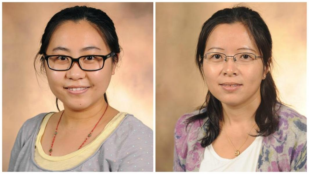 Biodesign Institute scientists Yue Deng and Fang Chen
