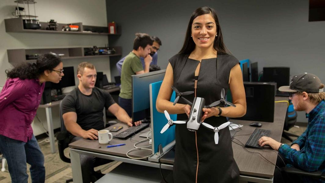 Assistant Professor Stephanie Gil is one of 10 Ira A. Fulton Schools of Engineering faculty members to receive a National Science Foundation CAREER Award for 2018 to 2019. She will develop an algorithmic and mathematical framework to achieve better coordi