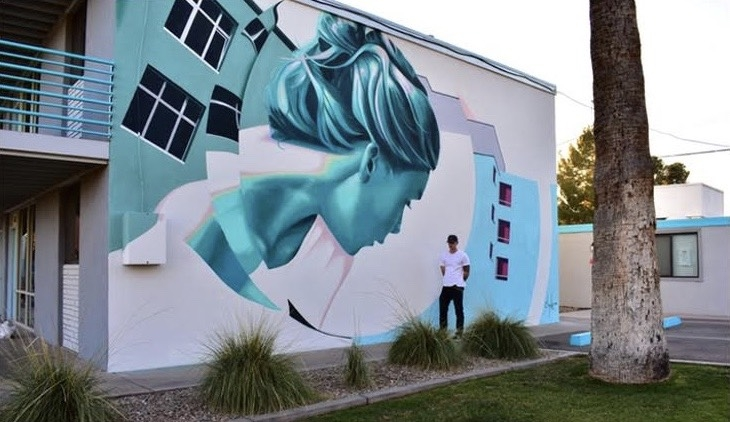 ASU alum and muralist Clyde Thompson