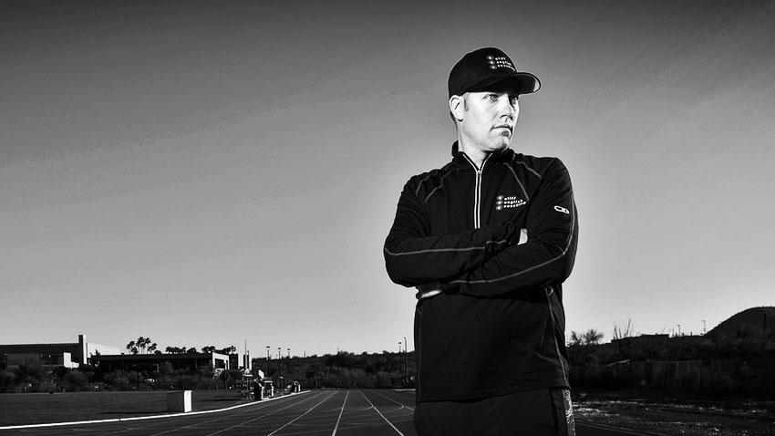 Triathlete coach Cliff English