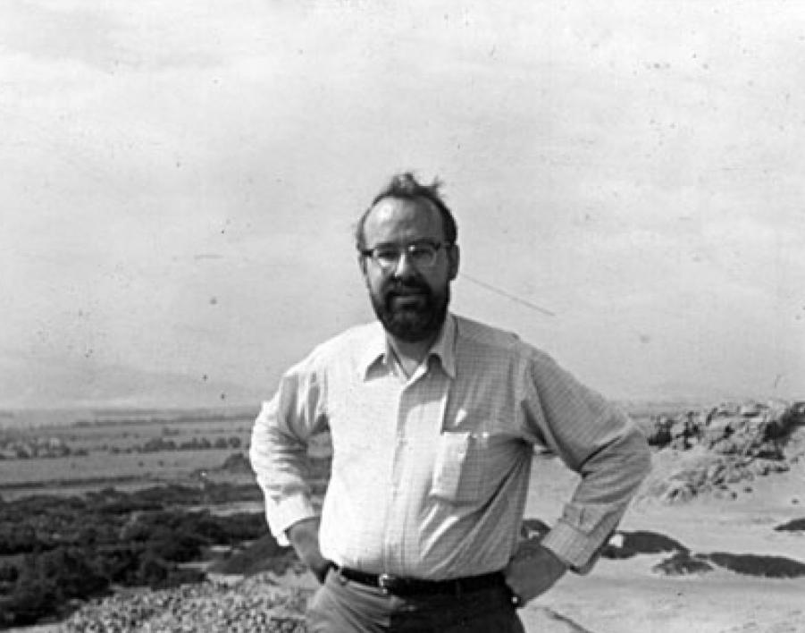 ASU professor George Cowgill