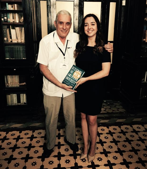 Sergio Pastrana, Foreign Secretary at the Cuban Academy of Sciences, and an ASU faculty member