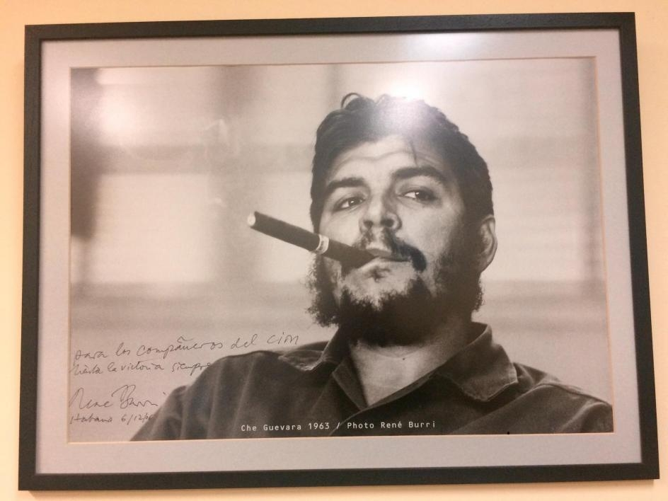 A photo of Che Guevara.