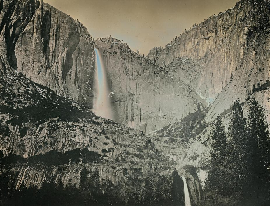 Yosemite National Park daguerreotype