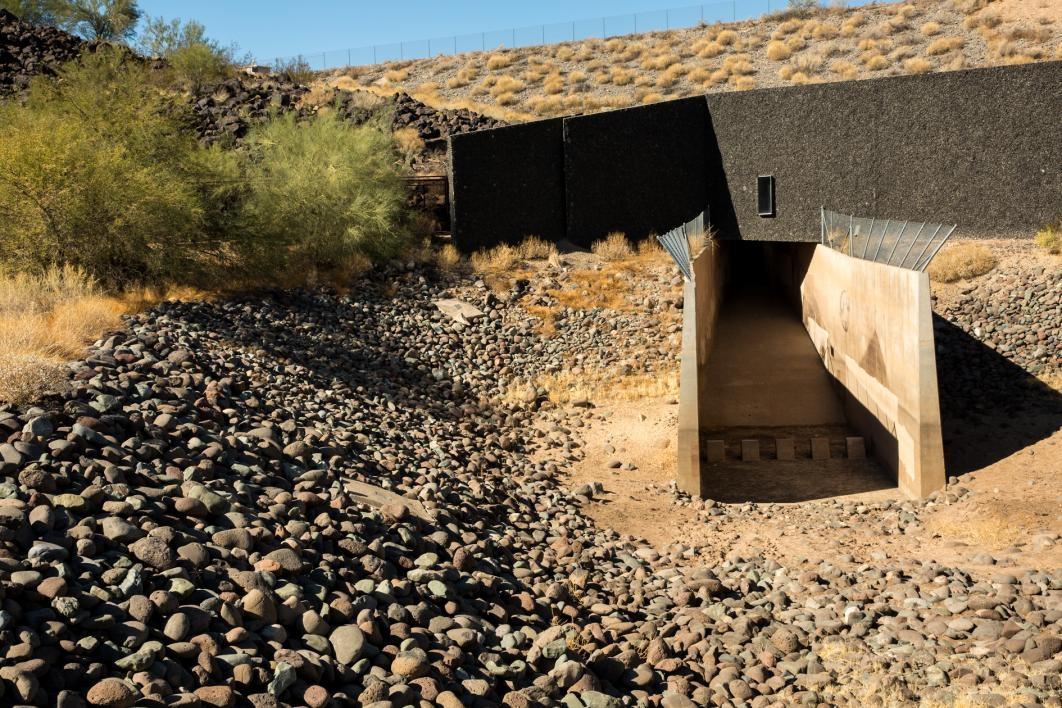 Deer Valley Petroglyph Preserve museum exterior