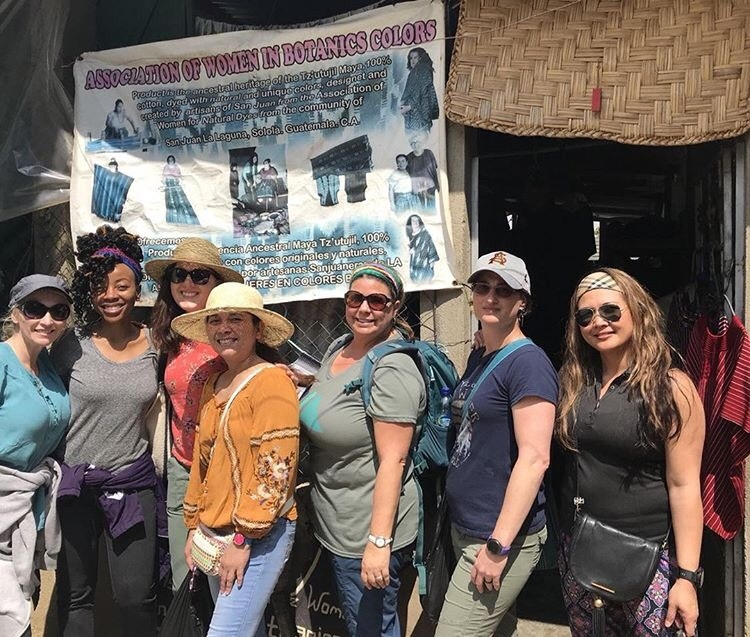 CONHI DNP Students sightseeing in Guatemala