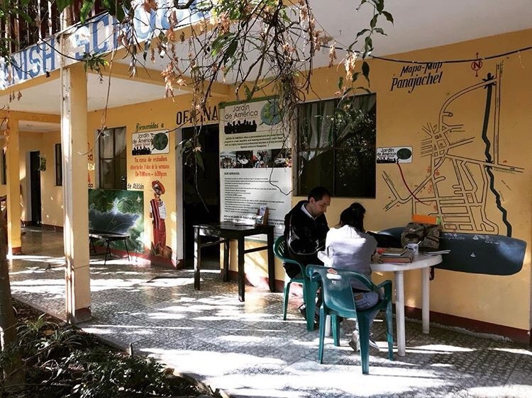 Jardín de América facility in Guatemala