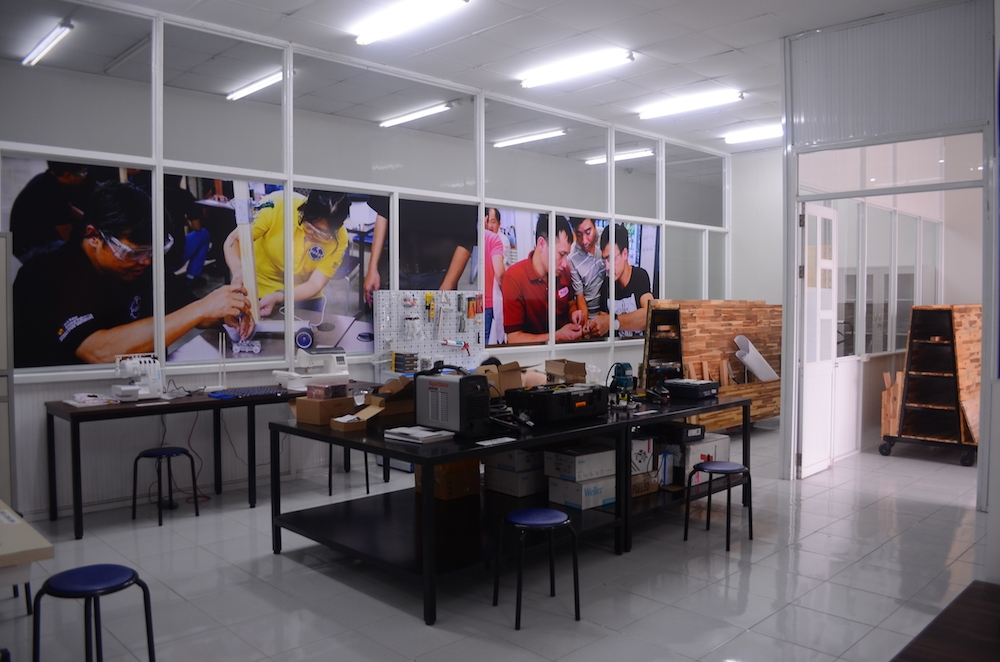 Photo of the inside of the Maker Innovation Space