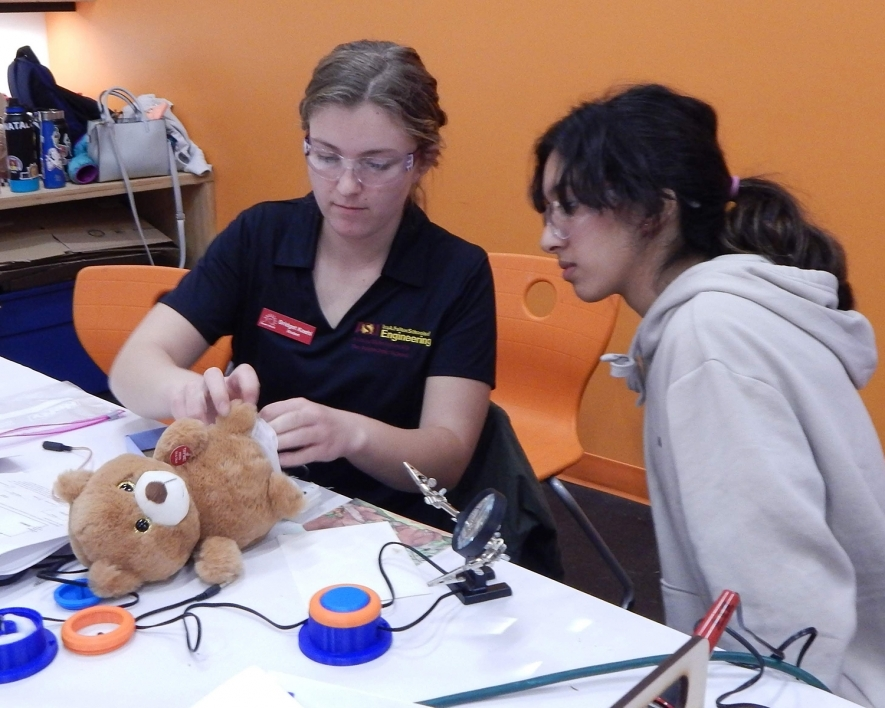 Hackathon makes interactive toys accessible to handicapped kids