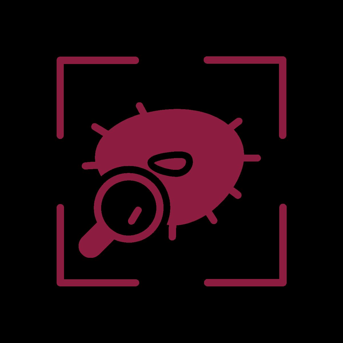 Contaminant detection icon