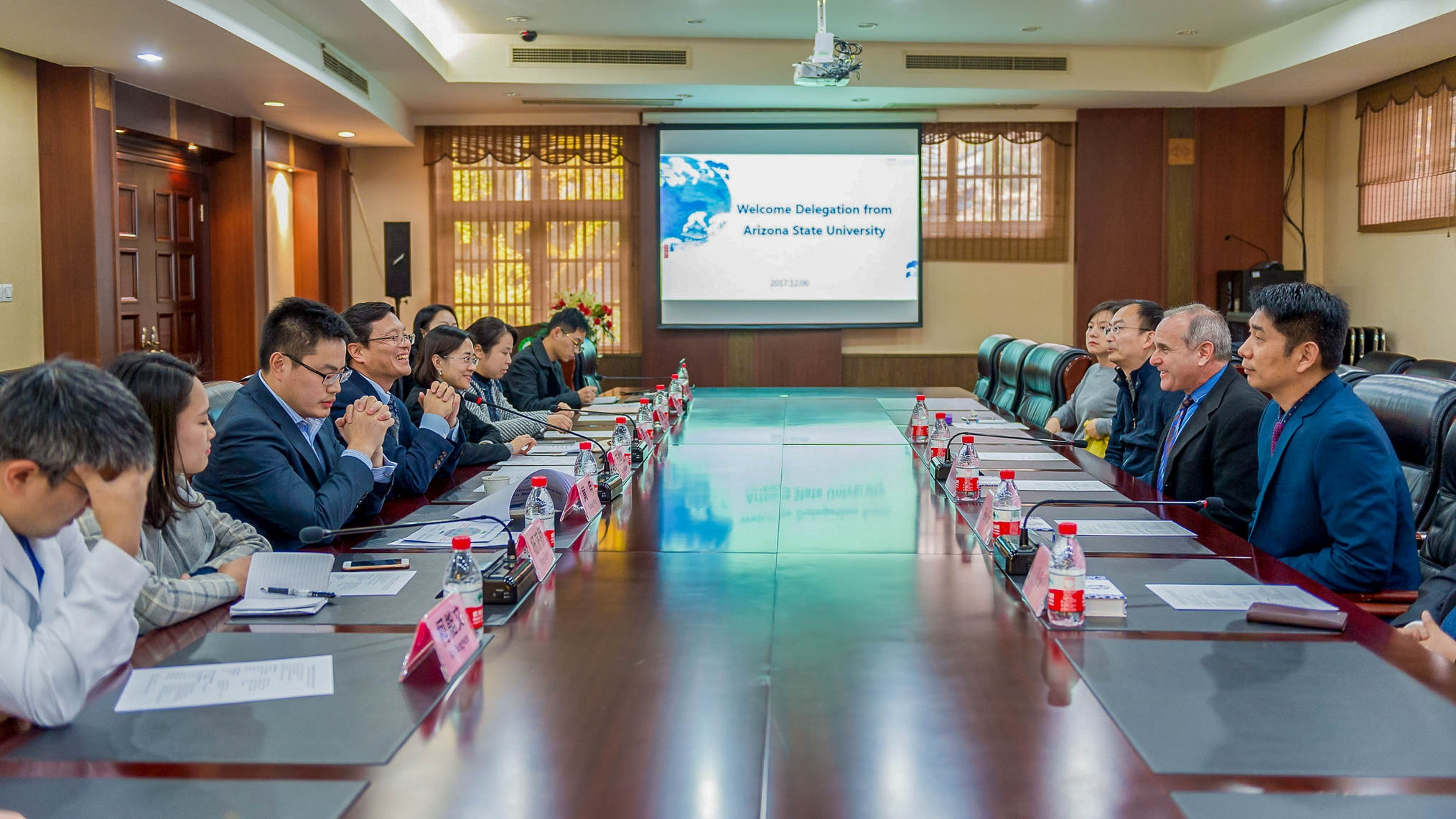 Biodesign Delegation in China
