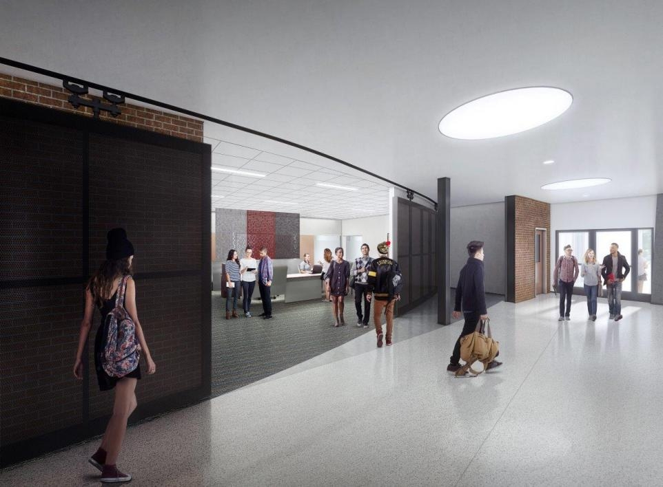 Rendering of Futures Center in Armstrong Hall
