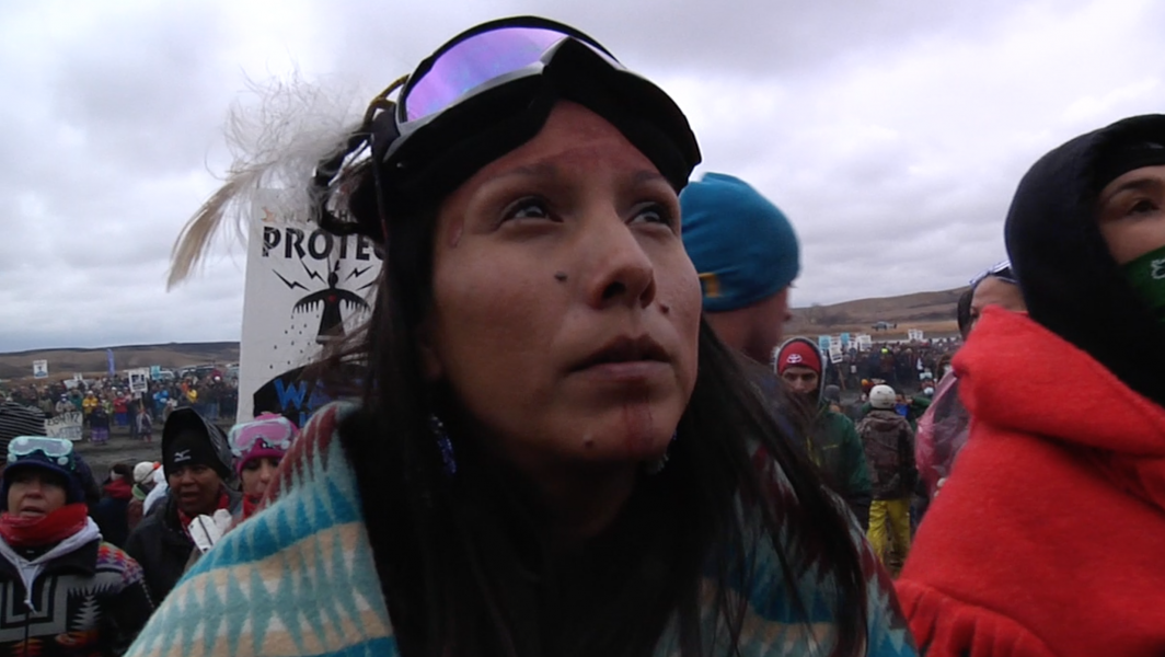 """Image from """"Awake: A Dream from Standing Rock"""" captured by Josh Fox."""