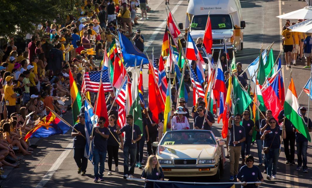 2016 ASU Homecoming Parade
