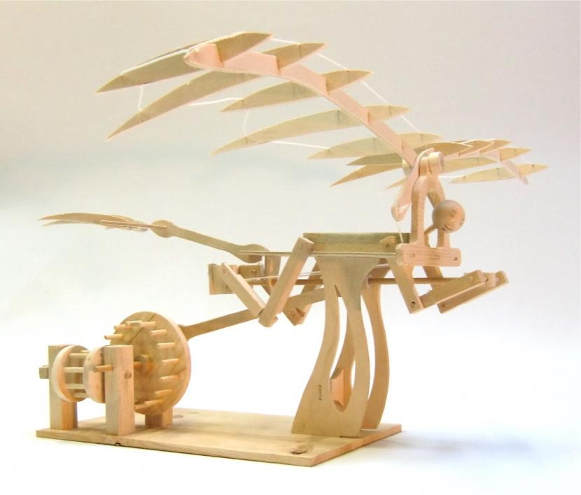 Leonardo's Ornithopter model