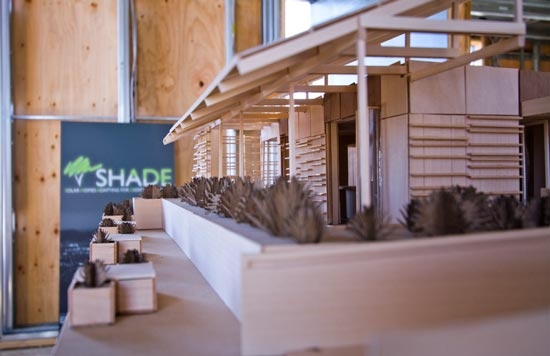scale model of SHADE project