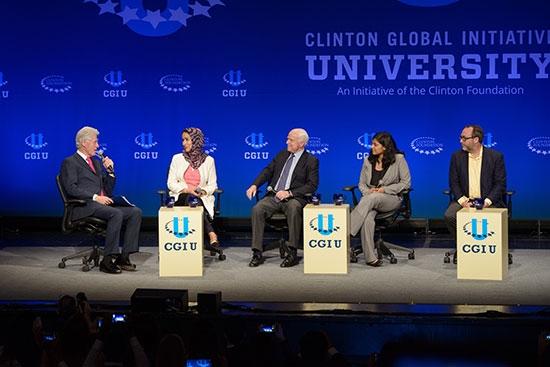 Bill Clinton at CGI U at ASU