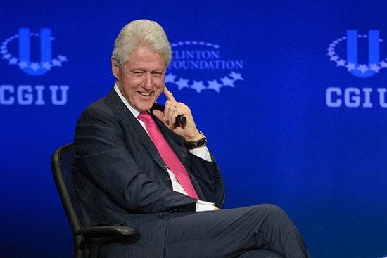 Bill Clinton and panel at CGI U at ASU