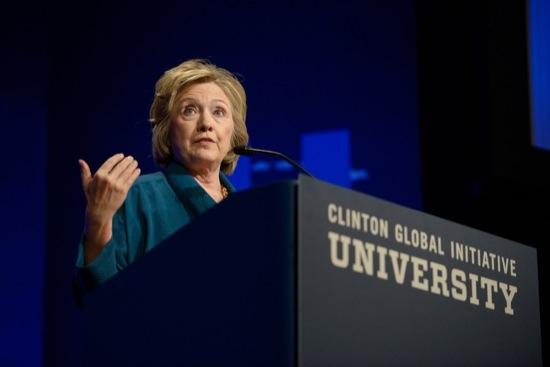 Hillary Rodham Clinton at CGI U