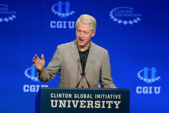 Bill Clinton at CGI U