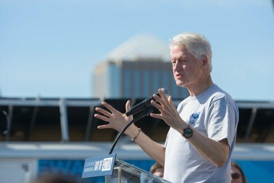 Former President Bill Clinton speaks at CGI U