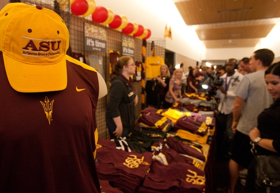 ASU athletic apparel