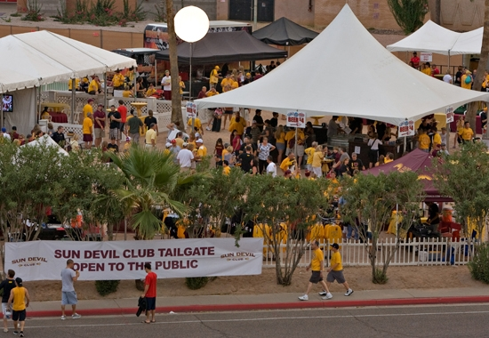 tailgating event
