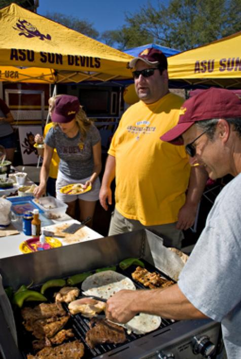 Sun Devil alums tailgating