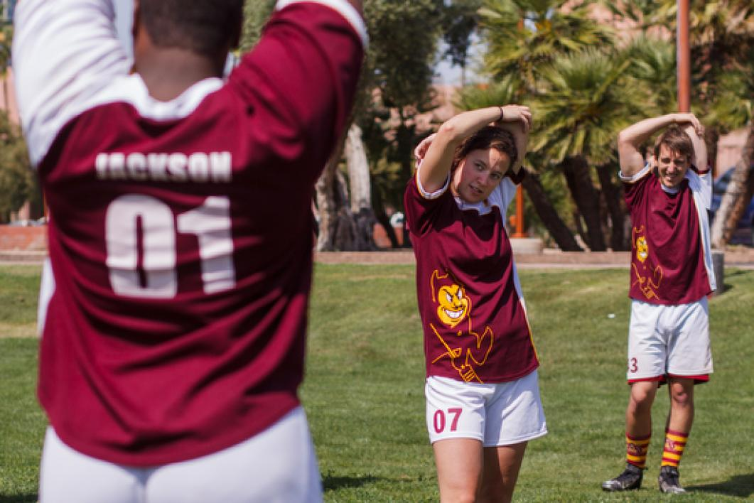 Alexis Bristor, ASU Quidditch Team captain