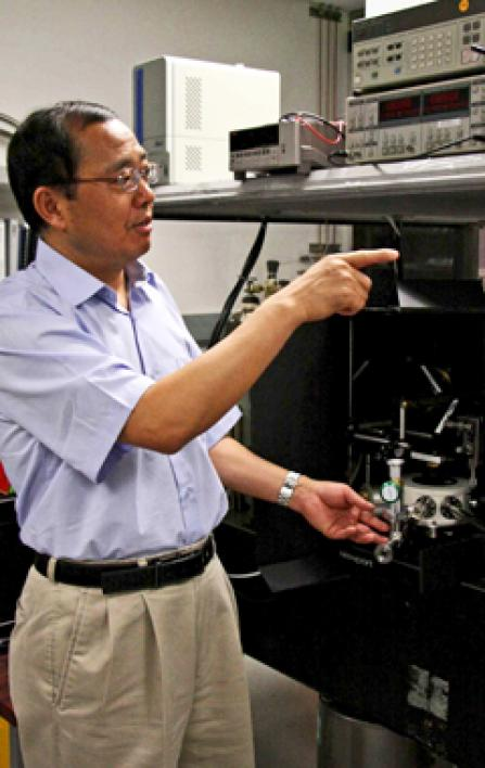 Laser technology research could improve computer performance.