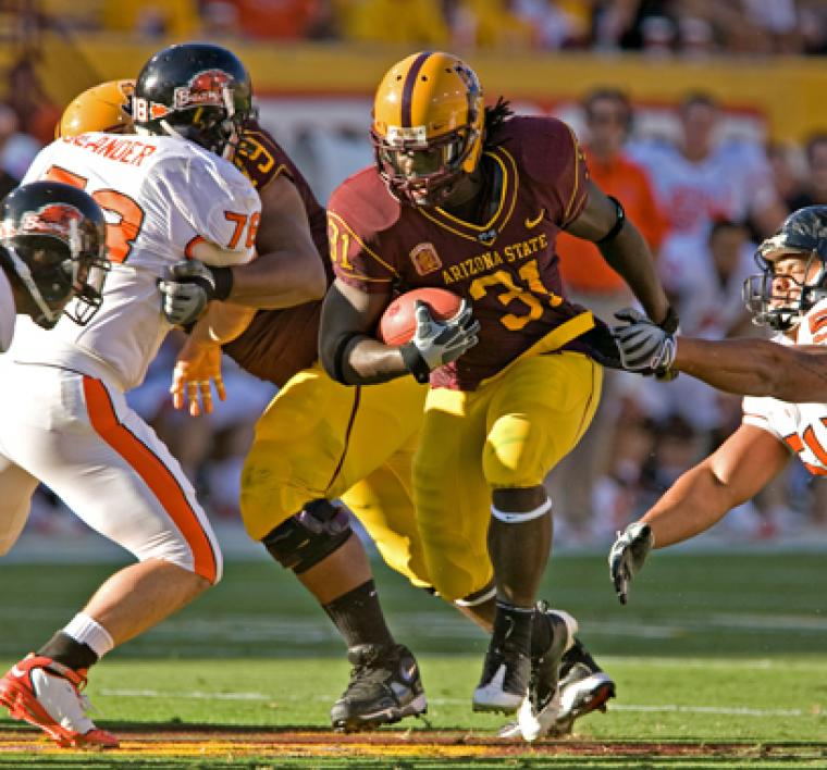 Sun Devil player Dimitri Nance
