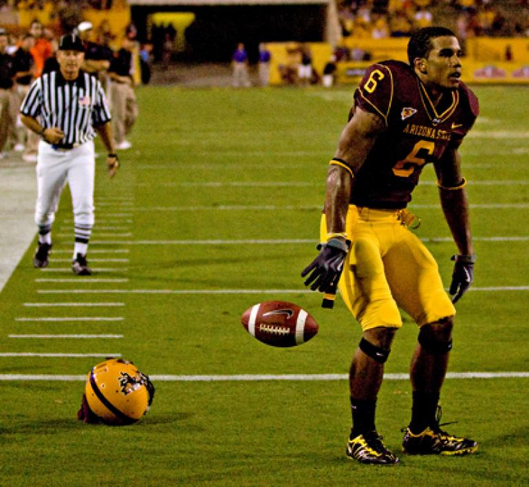 Sun Devil player Kyle Williams