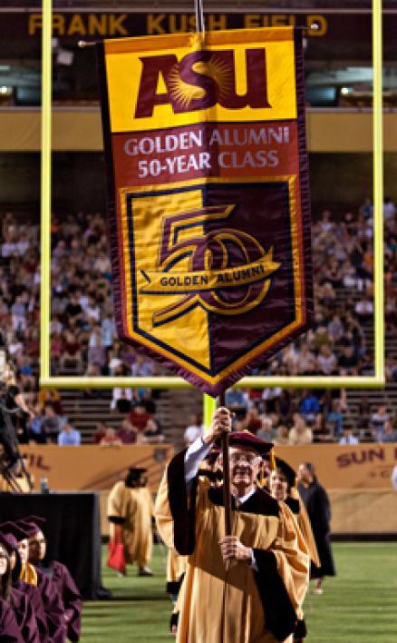 golden class banner