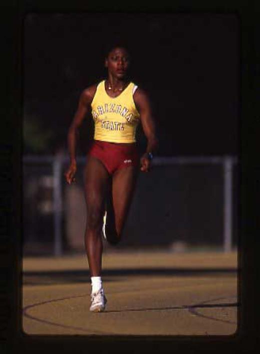 Maicel Malone running