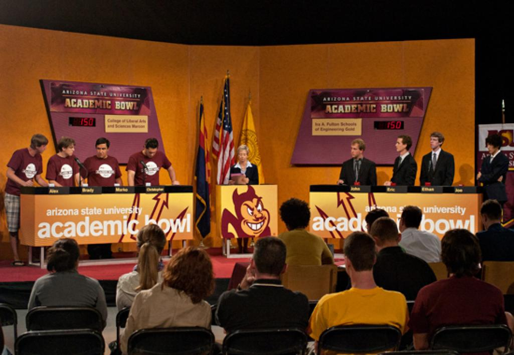 2011 Academic Bowl stage