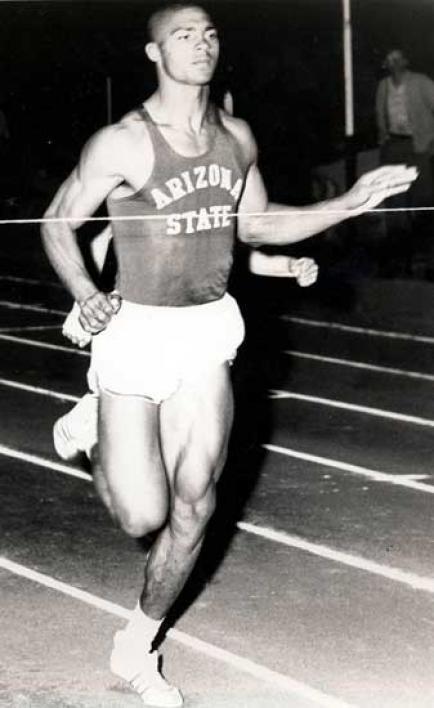 Henry Carr running