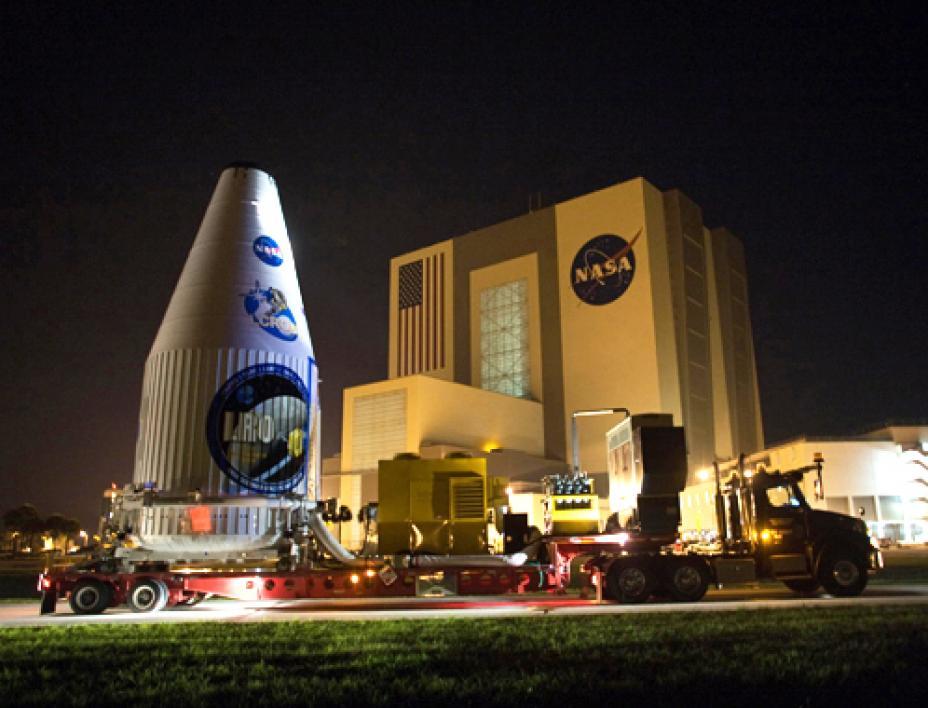 Lunar Reconnaissance Orbiter, pre-launch.