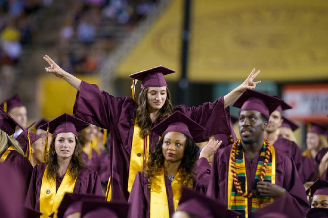 ASU grad throws out the pitchfork