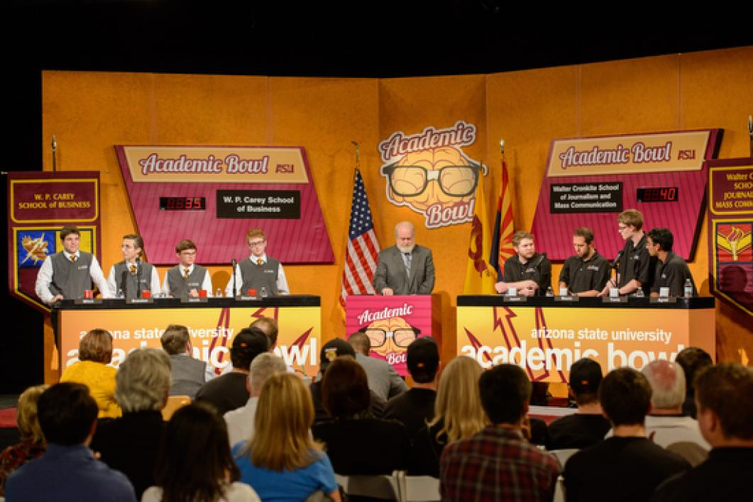 semifinals and finals of Academic Bowl