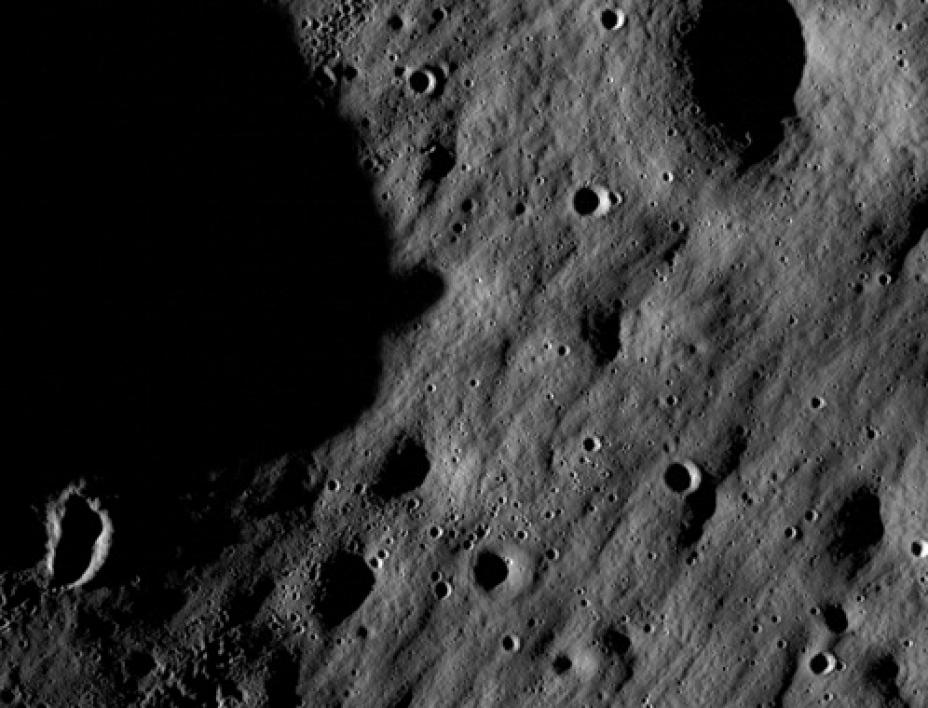 Image of Moon by LROC's Narrow Angle Camera.