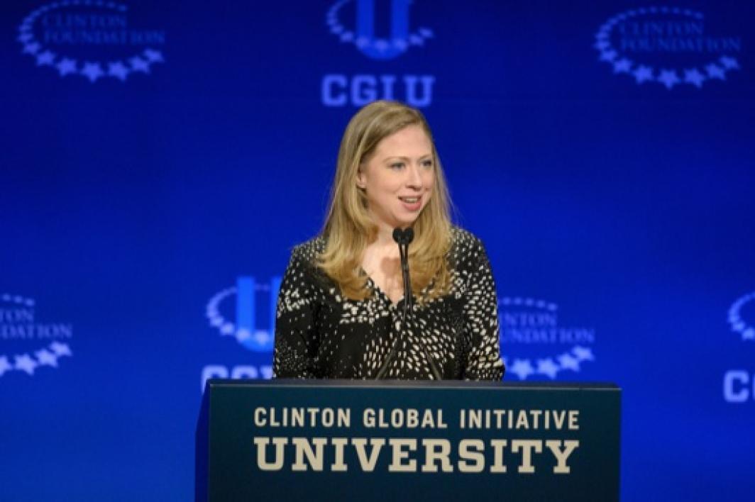 Chelsea Clinton at CGI U