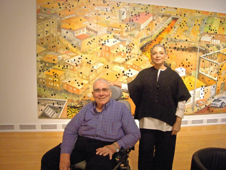 Sara and David Lieberman at ASU Art Museum opening reception