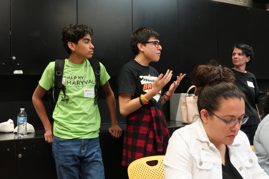 High school student Carlos Mendoza