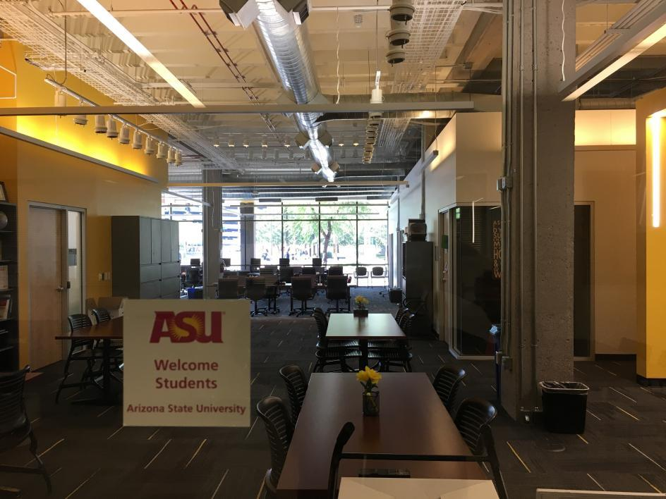 ASU's Tutoring Center and First-Year Success Center now have shared space at ASU's Downtown Phoenix campus