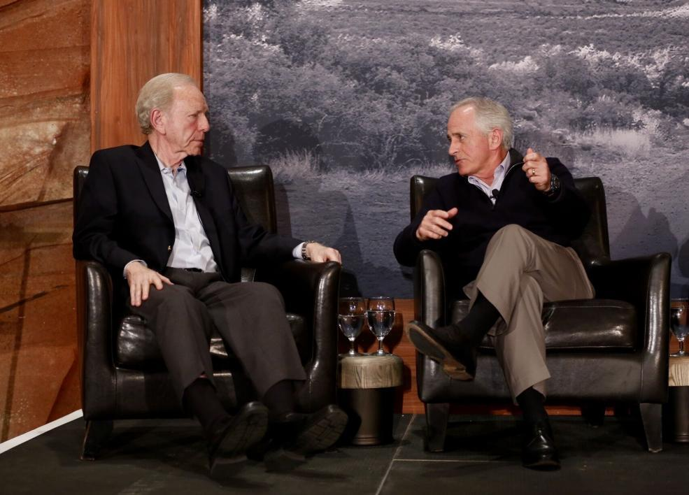 Joe Lieberman and Bob Corker