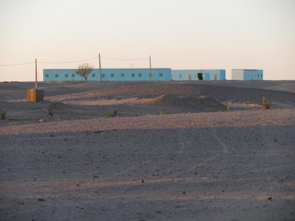 photo of the Wadi Qa'oud school after painting