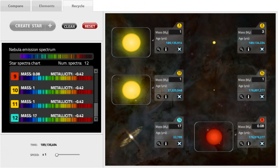 Habitable Worlds Interactive Simulator