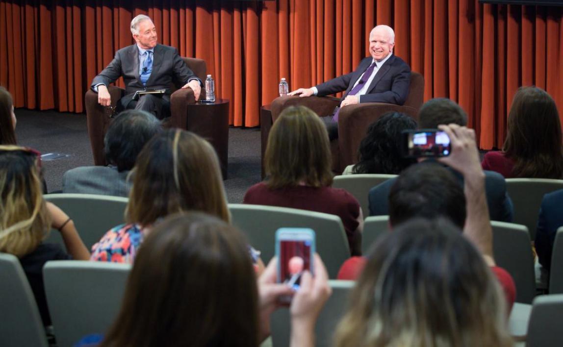 Jeff Cunningham interviews Sen. John McCain