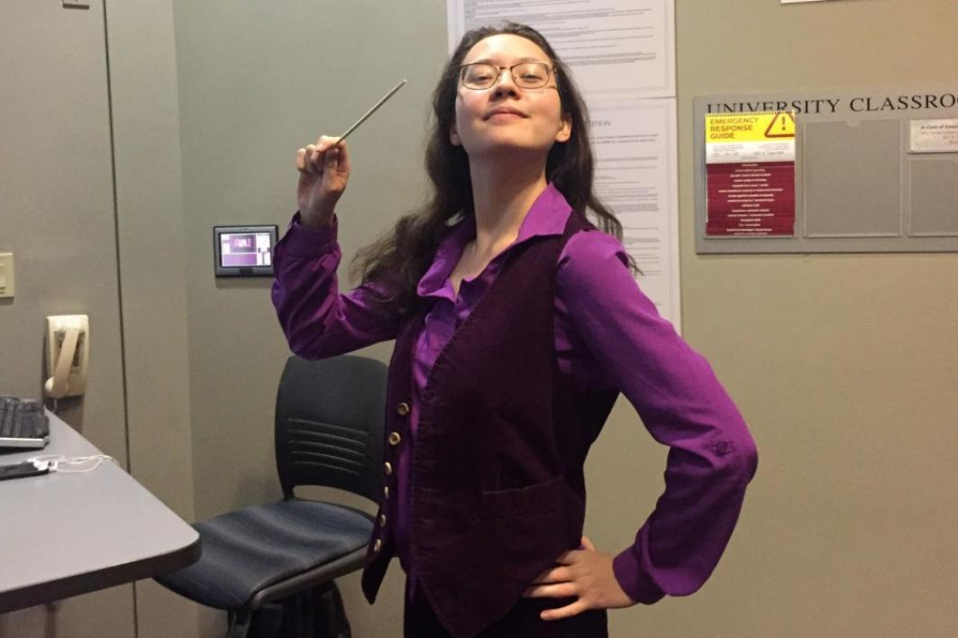 Kimberly Terasaki poses in a Harry Potter costume / Courtesy photo